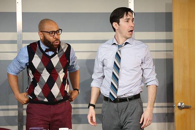 Ugo Chukwu and Justin Long