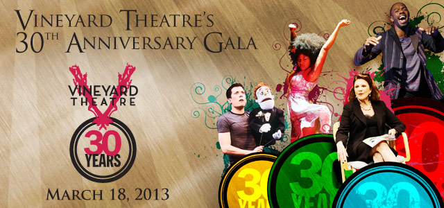 Vineyard Theatre's 30th Anniversary Gala
