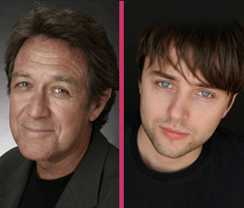 Larry Pine and Vincent Kartheiser